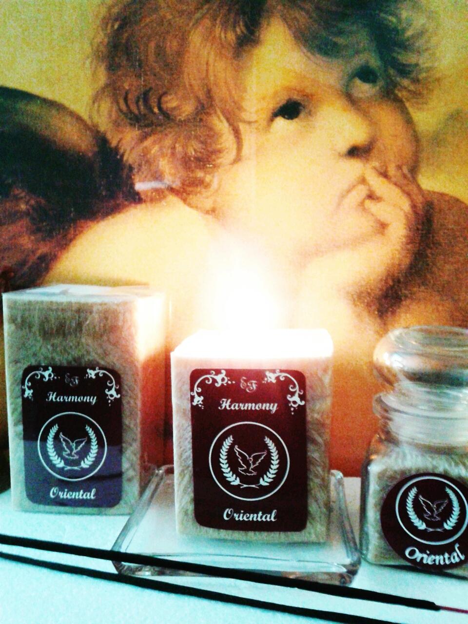 Aromaterapeutické sviečky